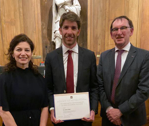 Descartes-Huygens Prize for medical researcher : Julien Barc